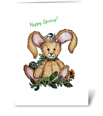 Happy Spring! greeting card