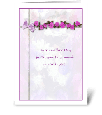 Loving Mother's Day Greeting greeting card