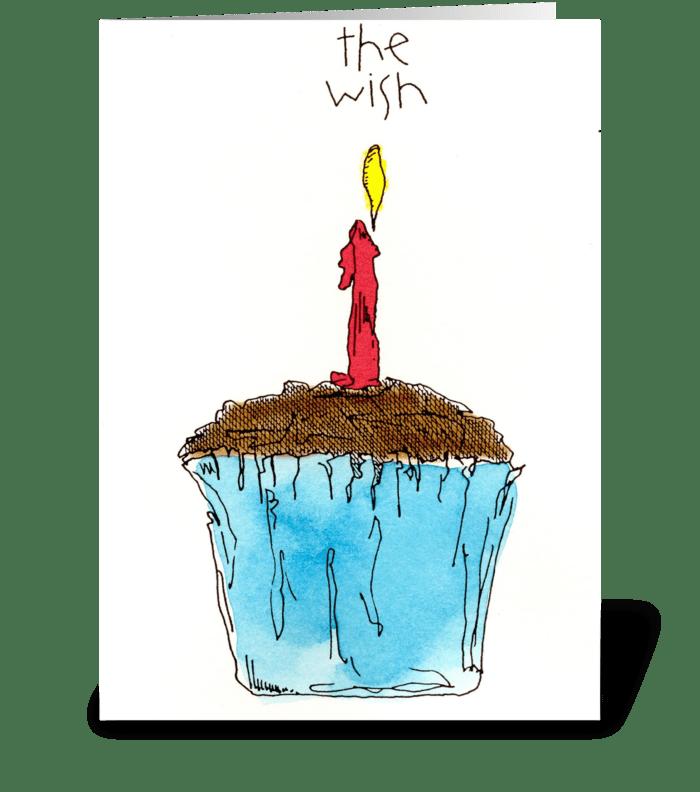 the wish greeting card