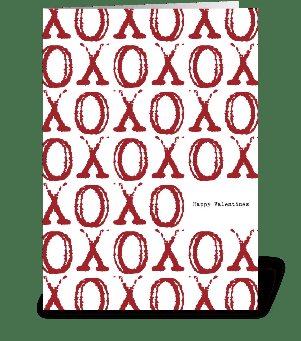 xoxo hugs  u0026 kisses valentine u0026 39 s day