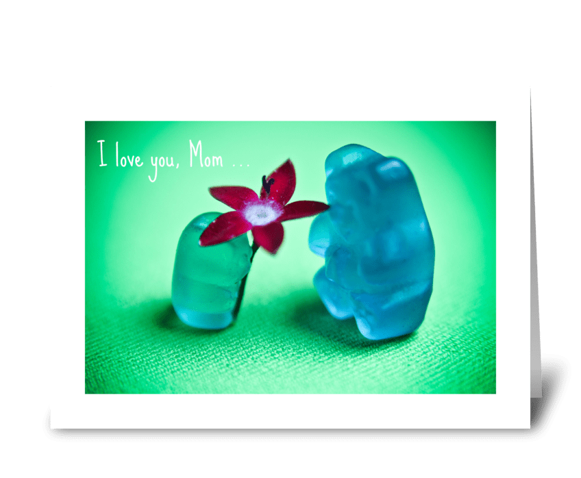 For You, Mom greeting card