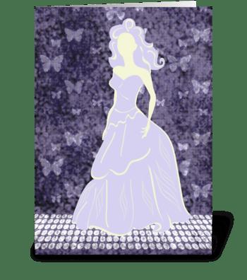 Bride Series 4 Full greeting card