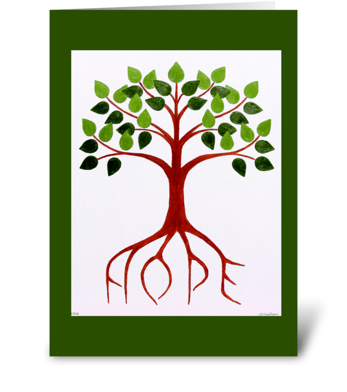 Hope Tree greeting card