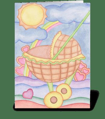 Sweet Baby greeting card