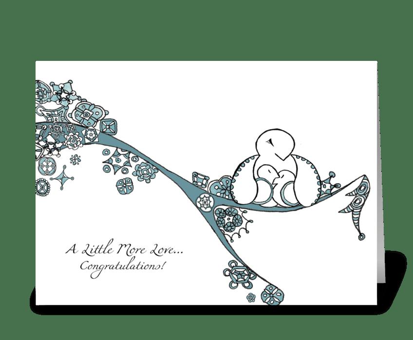 Seasons of Love (Winter) greeting card