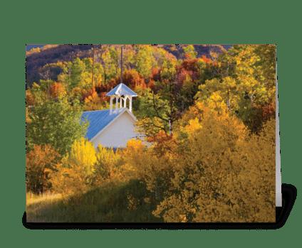 Seasons: Early Fall greeting card