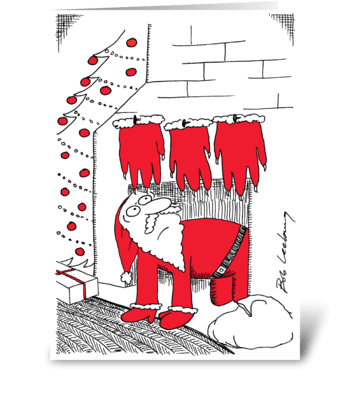 Monstrous Proportions greeting card