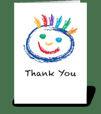 Smile greeting card