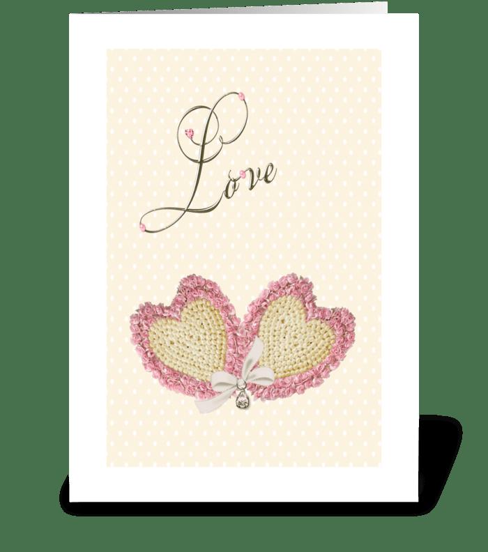 Love Hearts greeting card
