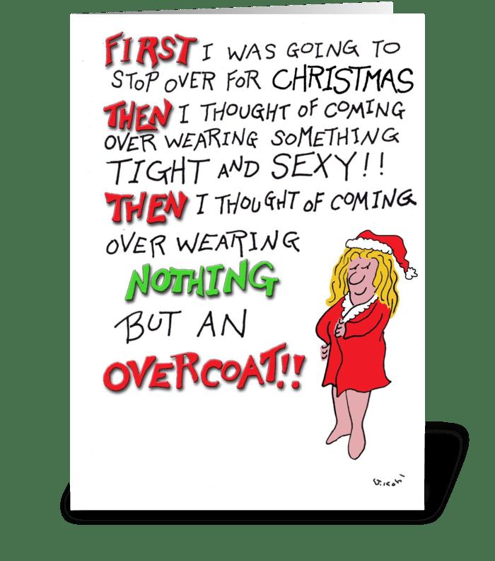 Send a Card-Christmas greeting card