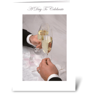 A Day to Celebrate greeting card