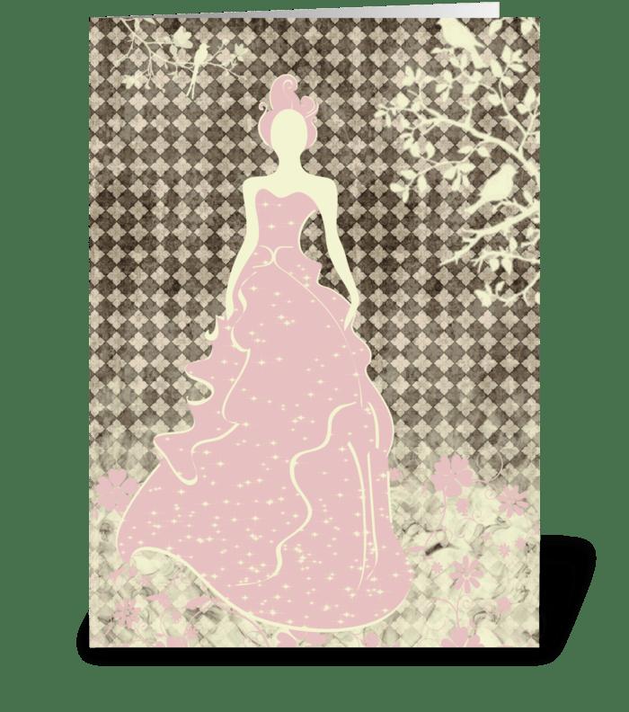 Bride Series 3 Full greeting card