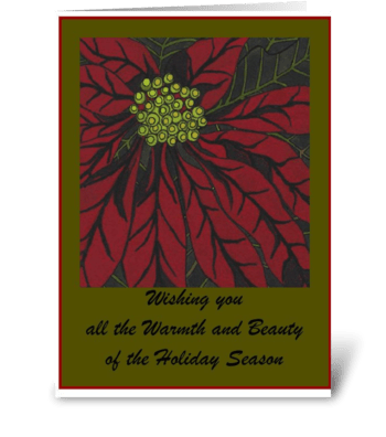 Inverno greeting card
