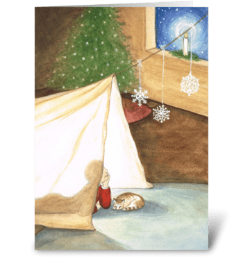Believe - Christmas greeting card