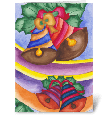 Bells greeting card