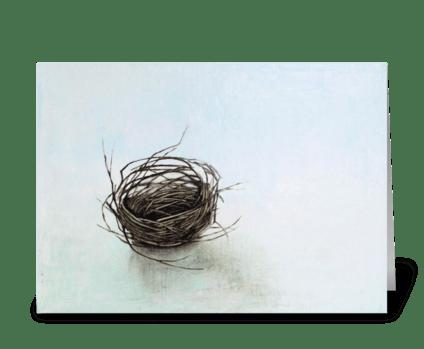 nest forgotten greeting card