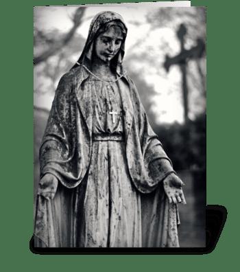 Silence greeting card