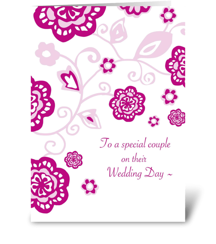 Wedding day wishes send this greeting card designed by tilia press wedding day wishes greeting card m4hsunfo