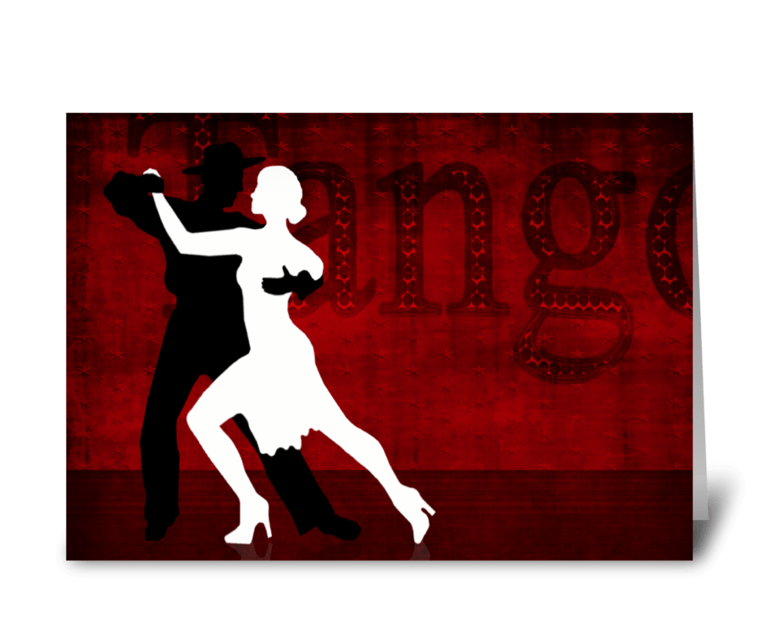 Tango Series 2 greeting card