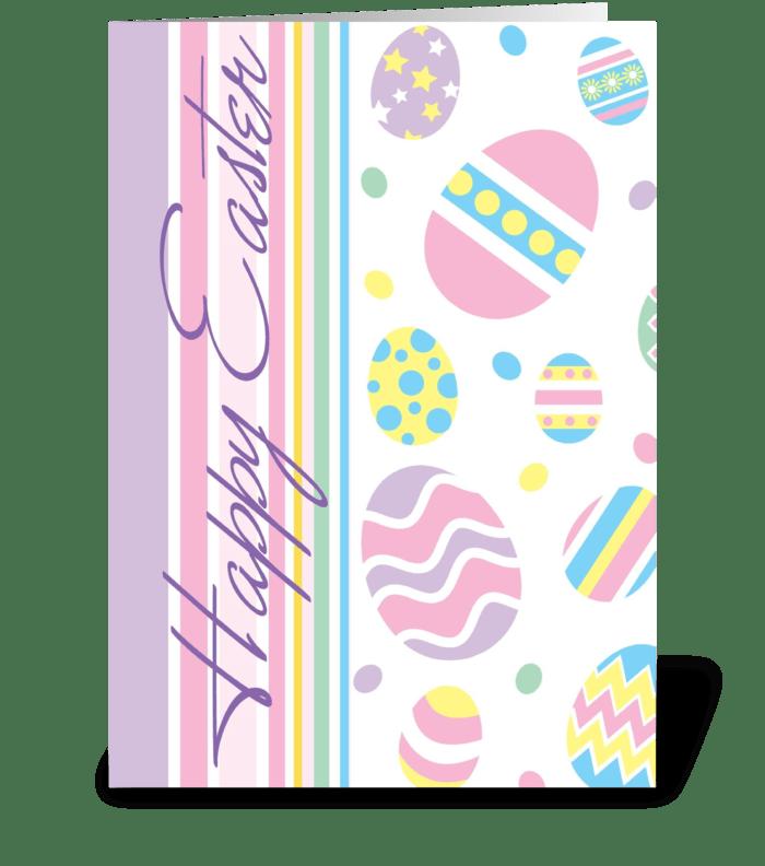 Easter Egg Fun  greeting card