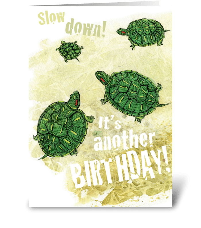 Another Birthday greeting card