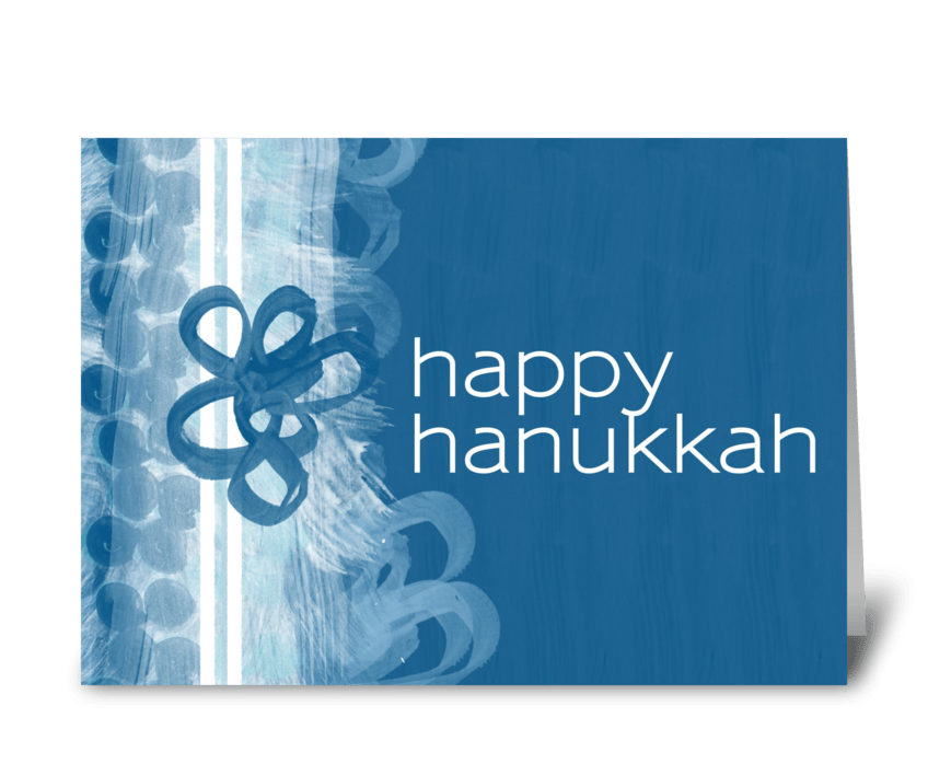 Happy hanukkah send this greeting card designed by greeblemonkey happy hanukkah greeting card m4hsunfo