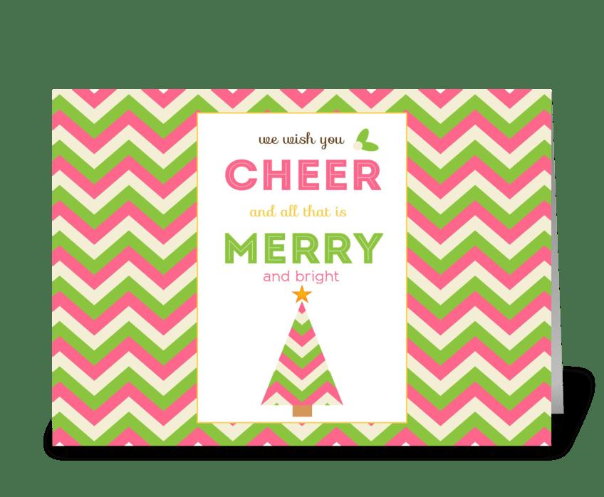 We Wish You Cheer! greeting card