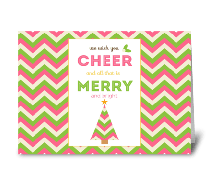 We Wish You Cheer! greeting card