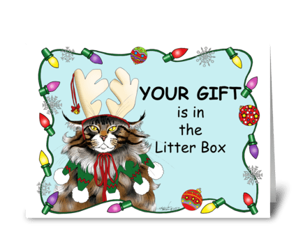 The Christmas Gift greeting card