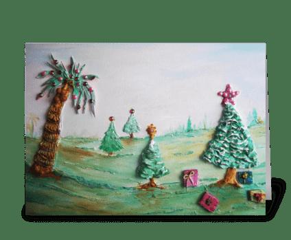Holiday Bling greeting card