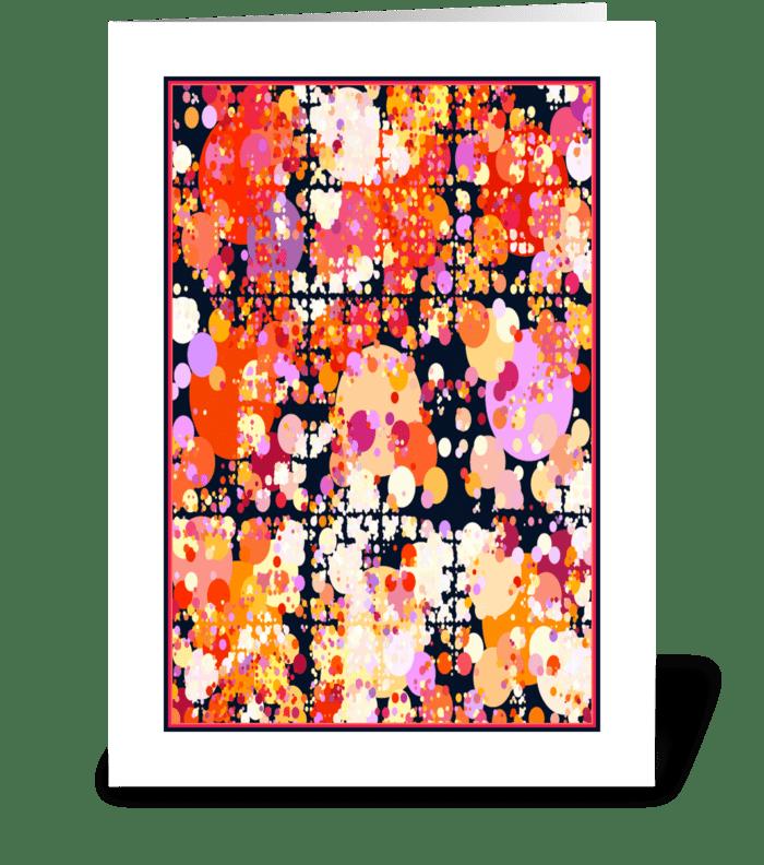 Joyous Explosion greeting card