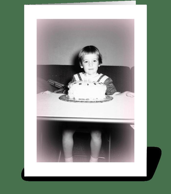 CAKE! greeting card