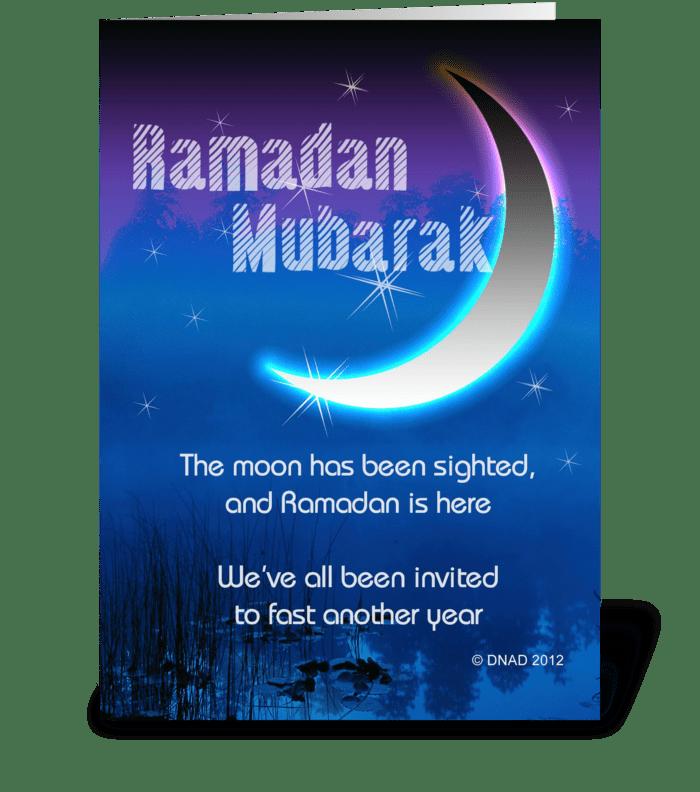 Ramadan mubarak send this greeting card designed by new africa art ramadan mubarak greeting card m4hsunfo
