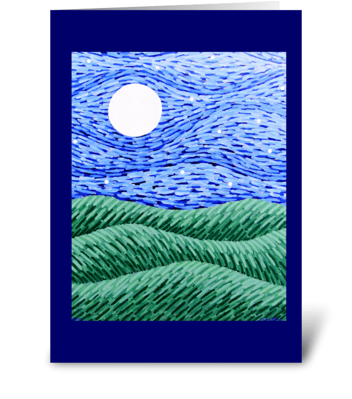 Returning & Rest greeting card