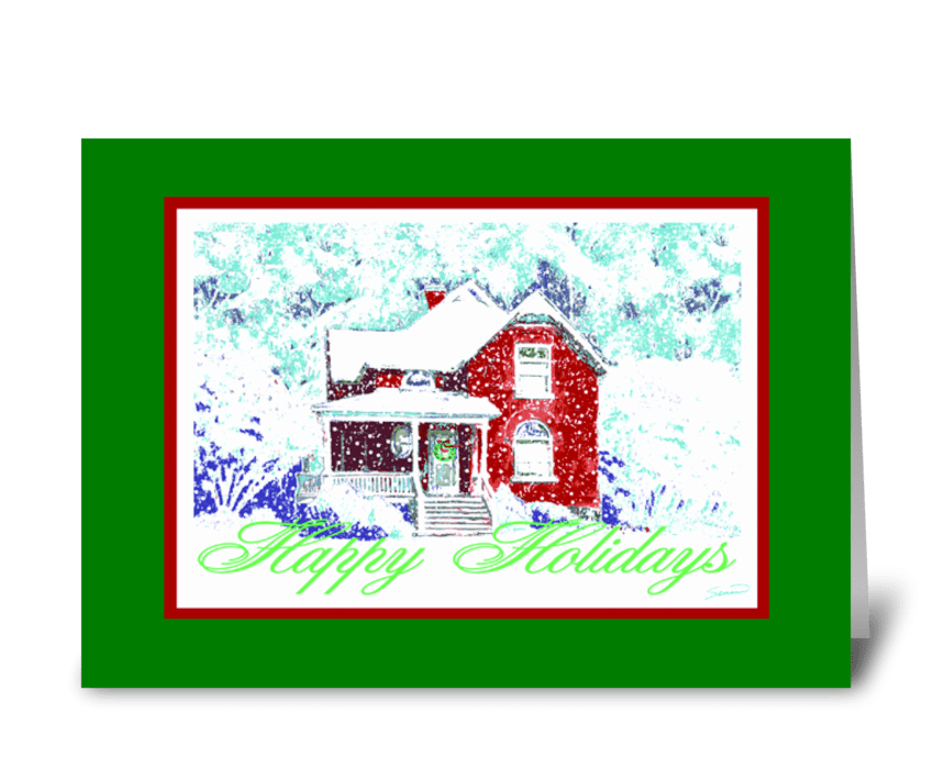 Home greeting card