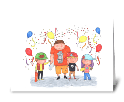 HAPPY BIRTHDAY!! greeting card