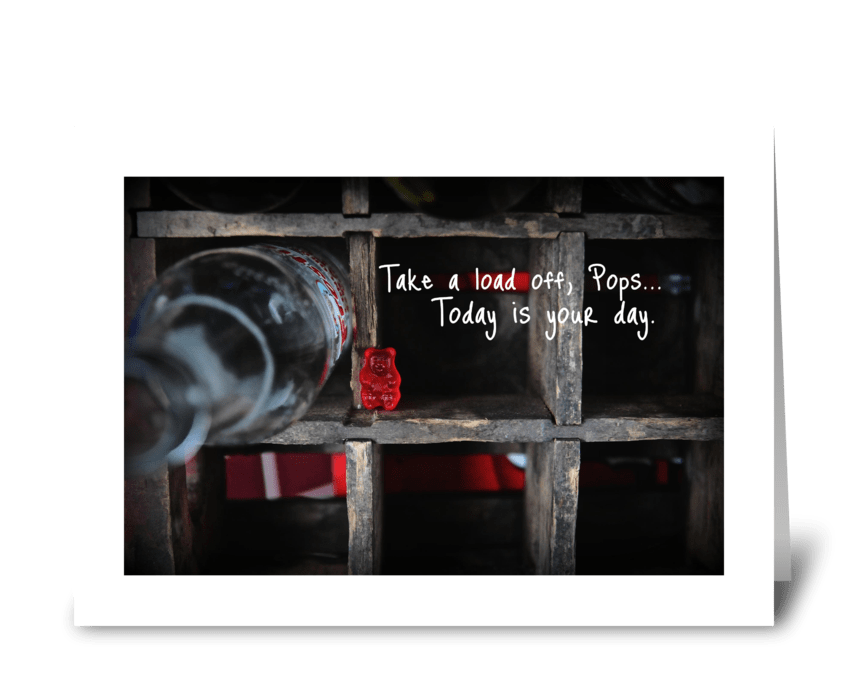 It's Dad's Day greeting card