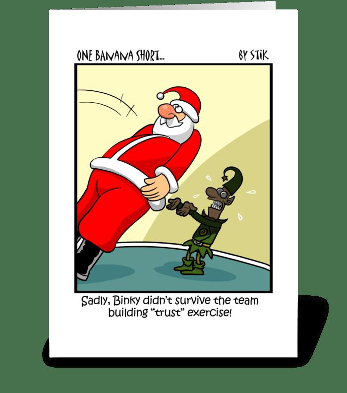 Christmas Trust greeting card