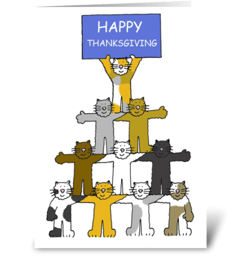 Thanksgiving Ctas greeting card