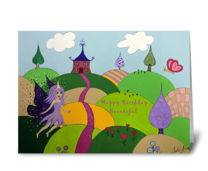 Fairyland Sparkle greeting card