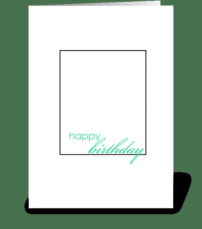 Happy Birthday Herpes Card greeting card