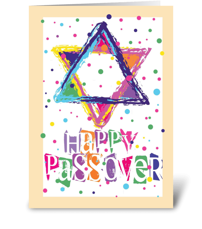 Passover Celebration greeting card