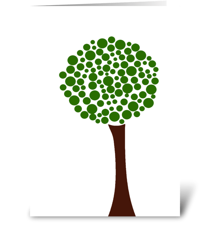 Earth Day Minimalist  greeting card