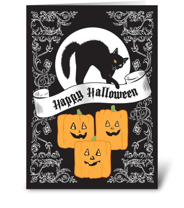 Halloween Treats greeting card