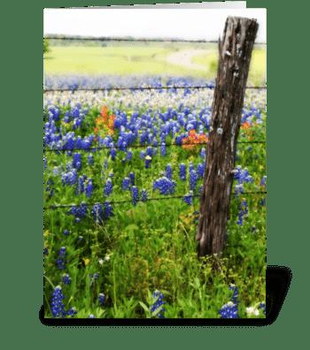Memories of Spring greeting card