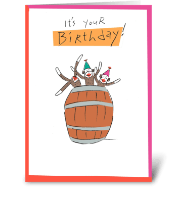It's Your Birthday! greeting card