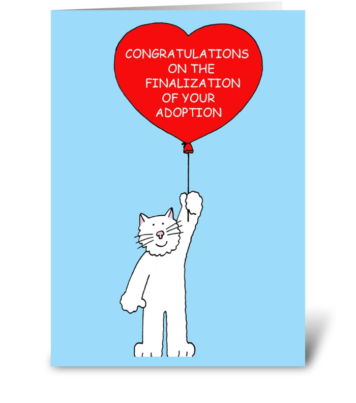 Congratulations finalization of adoption send this greeting card congratulations finalization of adoption greeting card m4hsunfo