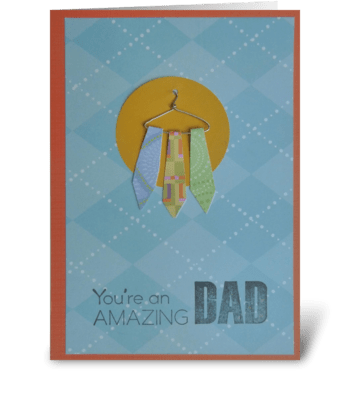 to the BEST Dad ever! greeting card