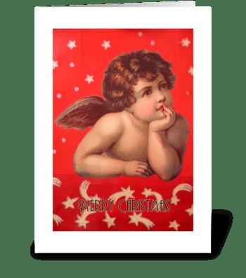 Merry Christmas greeting card