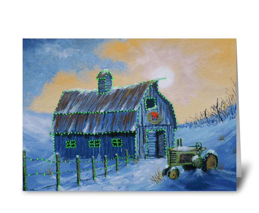A John Deere Green Christmas - Send this greeting card designed by ...